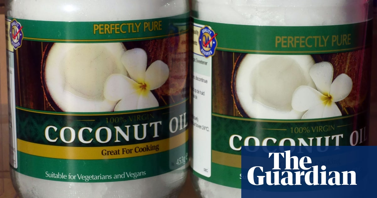 Coconut oil is 'pure poison', says Harvard professor | Food | The Guardian