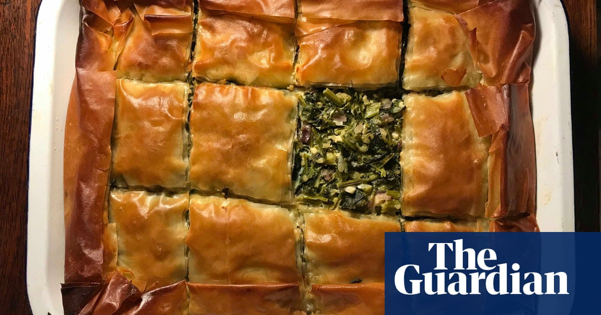 How to make the perfect spanakopita | Felicity Cloake | Food | The Guardian