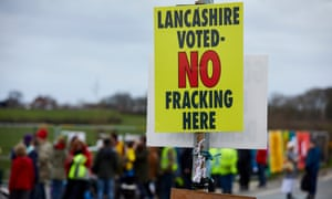 The report was released four days after ministers approved fracking in Lancashire.