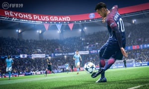 A showcase for new music ... EA Sports' Fifa 18 sold 10m copies.