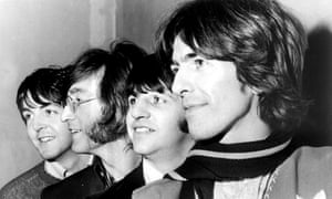 The Beatles in February 1968, the year Hey Jude was written.